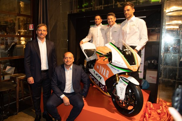IVAR main sponsor of Team LCR at electric motorcycle racing championship
