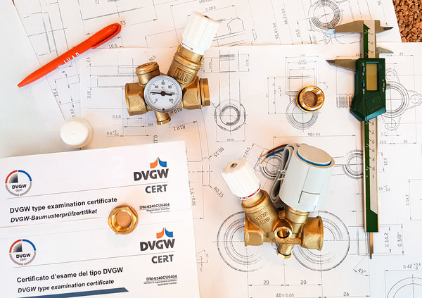 RTV valves type B and C get DVGW certification